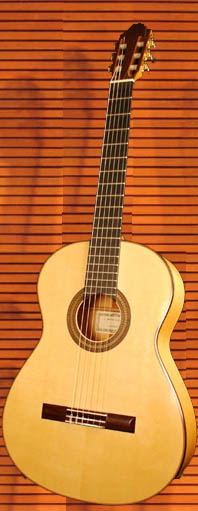 Flamenco guitar - front